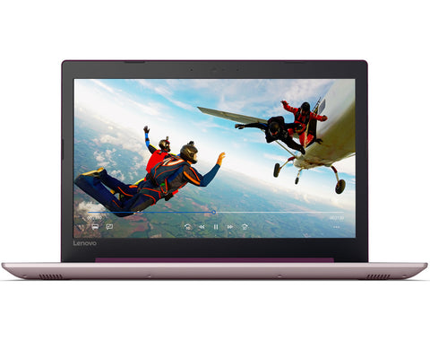 "Lenovo IdeaPad 320 15.6"" FullHD Antiglare N4200 up to 2.5GHz, 4GB DDR3, 1TB HDD, HDMI, Gigabit, WiFi, BT, HD cam, Plum Purple"