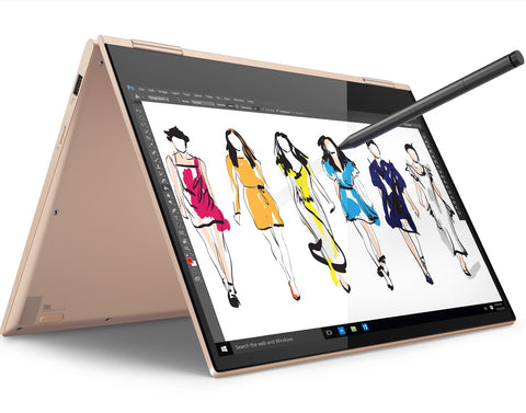"Lenovo Yoga 730 13.3"" FullHD IPS Antiglare Touch i7-8550U up to 4.0GHz QuadCore, 8GB DDR4, 256GB SSD m.2, Backlit KBD, Fingerprint Reader, USB-C, WiFi, BT, HD cam, Copper, Win 10 + Active Pen"