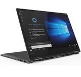 Lenovo Yoga 730 15.6 FullHD IPS Antiglare Touch i7-8550U up to 4.0GHz Quad Core, GTX 1050 4GB, 8GB DDR4, 512GB SSD m.2, Backlit KBD, Fingerprint Reader, USB-C, WiFi, BT, HD cam, Iron Grey, Win 10 + Active Pen