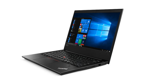 "Notebook Lenovo ThinkPad Edge E480,Black,Intel Core i7-8550U(1.8GHz up to 4.0GHz,8MB),8GB DDR4,256GB SSD,14""FHD(1920x1080) IPS,Anti-glare,RX 550 2GB,TPM 2.0,Wireless AC,BT,FPR,1Gb Ethernet,bklt kbd,micro SD CR,USB-C,RJ45,Camera,HDMI,3cell,DOS,3 Years"