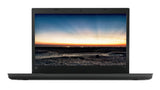 "Notebook Lenovo ThinkPad L480,Black,Intel Core i7-8550U(1.8GHz up to 4.0GHz,8MB),8GB DDR4,256GB SSD NVMe,14""FHD(1920x1080) IPS Anti-glare,Intel UHD 620,dTPM 2.0,SC reader,Wireless AC,BT,FPR,backlit kbd,1Gb Ethernet,USB-C,HDMI,Camera,dock connector,3cell"