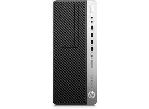 HP EliteDesk 800 G3 Tower  Intel® Core™ i7-7700 with Intel® HD Graphics 630 (3.6 GHz base frequency, up to 4.2 GHz with Intel® Turbo Boost Technology, 8 MB cache, 4 cores) 16 GB DDR4-2400 SDRAM (1 x 16 GB) 512 GB PCIe® NVMe™ SSD DVD/RW Windows 10 Pro 64