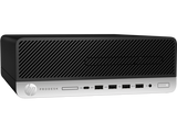 HP ProDesk 600G3 SFF Intel® Core™ i3-7100 with Intel HD Graphics 630 (3.9 GHz, 3 MB cache, 2 cores) 4 GB DDR4-2400 SDRAM (1 x 4 GB)  1TB HDD 7200 RPM DVD/RW Windows 10 Pro 64 3 Years warranty