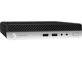 HP ProDesk 400G3 DesktopMini Intel® Core™ i5-6500T with Intel HD Graphics 530 (2.5 GHz, up to 3.1 GHz with Intel Turbo Boost, 6 MB cache, 4 cores)  8 GB DDR4-2400 SDRAM (1 x 8 GB) 256 GB SATA SSD Windows 7 Professional 64 (available through downgrade ri