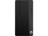 HP 290G1 MT Intel® Core™ i3-7100 with Intel® HD Graphics 630 (3.9 GHz, 3 MB cache, 2 cores) 500GB 7200RPM 4GB (1x4GB) DDR4 2400 MHz RAM DVD/RW Windows 10 Pro, 1 year warranty