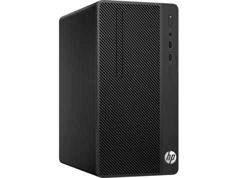 HP 290G1 MT Intel® Pentium® G4560 with Intel HD Graphics 610 (3.5 GHz, 3 MB cache, 2 cores) 4 GB DDR4-2400 SDRAM (1 x 4 GB) 500 GB 7200 rpm SATA HDD DVD/RW Windows 10 Pro,1 year warranty
