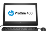 HP HP ProOne 400 G3 20-inch Non-Touch All-in-One PC  Intel® Core™ i3-7100T with Intel® HD Graphics 630 (3.4 GHz, 3 MB cache, 2 cores)  4 GB DDR4-2400 SDRAM (1 x 4 GB) 1 TB 7200 rpm SATA DVD/RW FREE DOS, 1 year warranty