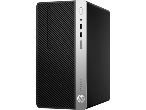 HP ProDesk  400G5 MT Intel® Core™ i7-8700 (3.2 GHz base frequency, up to 4.6 GHz with Intel® Turbo Boost Technology, 12 MB cache, 6 cores)  8 GB DDR4-2666 SDRAM (1 X 8 GB) 2 TB 7200 rpm SATA HDD AMD Radeon™ R7 430 Graphics (2 GB GDDR5 dedicated) ,DVD/RW
