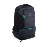 "PREDATOR HYBRID BACKPACK FOR 15.6"",  BLACK WITH TEAL BLUE"