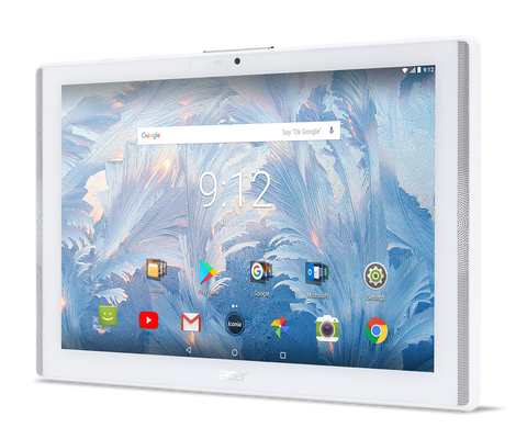 "Tablet Acer Iconia B3-A42-K8B6 (White) 4G LTE™/10.1"" WXGA IPS HD (1280x800)/MTK MT8735 quad-core Cortex A53 1.3 GHz/1x2GB LPDDR3, 16GB eMMC/Cam (2MP front), rear 5 MP (2560 x 1920) 1080p FHD/ G-sensor, Micro USB, microSD™/2-cell battery/Android™ 7.0 (No"