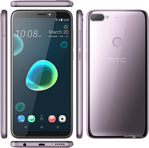 "HTC Breeze (Desire 12+) Silver Purple Dual SIM/6.0"" HD+(720x1440 pixels)18:9/Qualcomm™ Snapdragon™ 450 (Octa-core) 64-bit /3GB/32GB/Main Camera 13MP+ 2MP Autofocus, BSI sensor, PDAF/Selfie 8MP BSI sensor/Li-Ion 2965 mAh/Dual-SIM/4G LTE™ cat.11/Dual SIM"