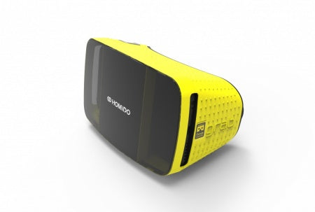 Homido Grab Virtual reality headset - Yellow