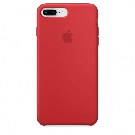 Apple iPhone 8 Plus/7 Plus Silicone Case - (PRODUCT) RED