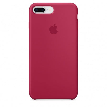 Apple iPhone 8 Plus/7 Plus Silicone Case - Rose Red