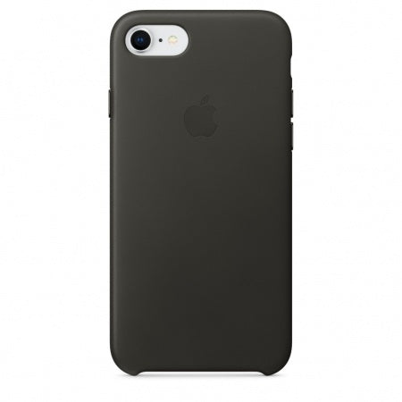 Apple iPhone 8/7 Leather Case - Charcoalæ Gray
