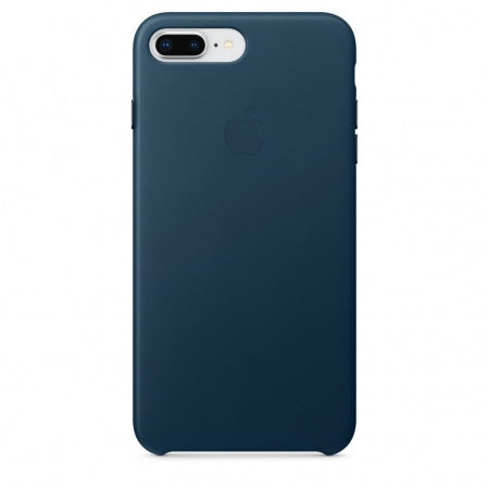 Apple iPhone 8 Plus/7 Plus Leather Case - Cosmos Blue