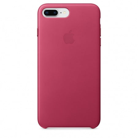 Apple iPhone 8 Plus/7 Plus Leather Case - Pink Fuchsia