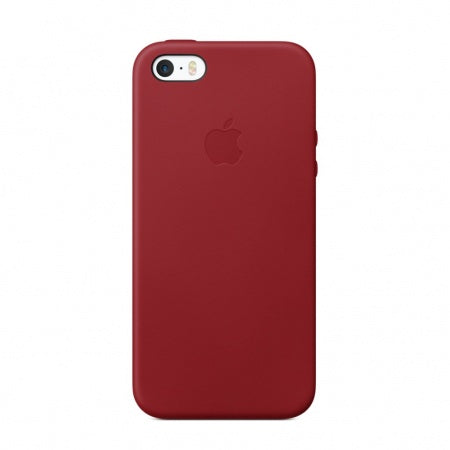 Apple iPhone SE Leather Case - (PRODUCT) RED