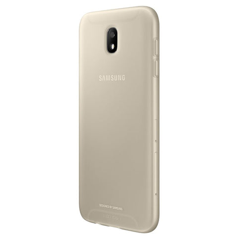 Samsung Galaxy J7 (2017), Jelly Cover , Gold