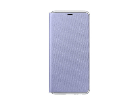 Samsung Galaxy A8 (2018), Neon Flip Cover, Orchid Gray