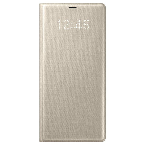 Samsung Galaxy Note 8, LED View Cover, Gold