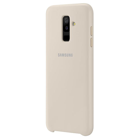 Samsung Galaxy A6+ (2018), Dual Layer Cover, Gold