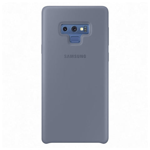Samsung Galaxy Note 9, Silicon Cover, Blue