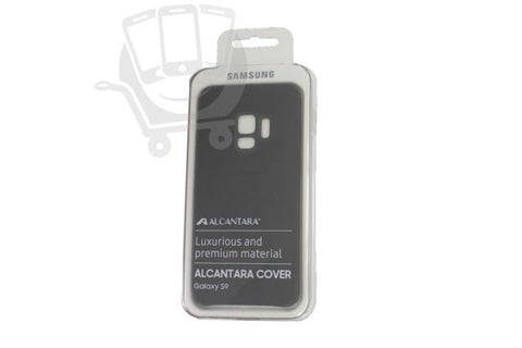 Samsung Galaxy S9, Alcantara Cover, Black