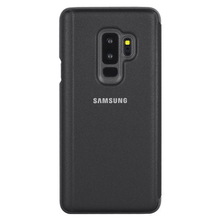 Samsung Galaxy S9, Clear View Standing Cover, Black