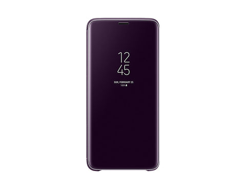 Samsung Galaxy S9 +, Clear View Standing Cover, Purple