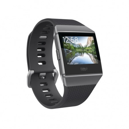 Fitbit Ionic - Charcoal/Smoke Gray