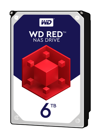 HDD 6TB SATAIII WD Red 64MB for NAS (3 years warranty)