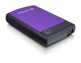 "Твърд  диск Transcend 1TB StoreJet 25H3 USB 3.0 2.5"" Rubber Case, Anti-Shock, Purple"