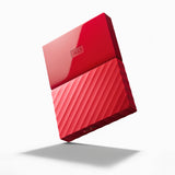 HDD 2TB USB 3.0 MyPassport (THIN) Red (3 years warranty) NEW