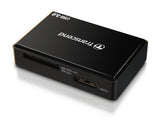 Четец за флаш карта Transcend USB 3.0 All-in-1 Multi Card Reader for SD/SDHC/SDXC/MS/CF Cards, Black