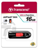Флаш памет Transcend 16GB JetFlash 590 USB 2.0, Black