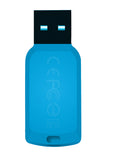 Флаш памет Transcend  8GB JetFlash 360 Hi-Speed USB 2.0, read-write: up to 16MBs, 6MBs, Light Blue