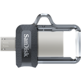 Флаш памет SanDisk Ultra OTG for Android Dual USB Drive M3.0 64GB, USB 3.0/micro-USB Interface, read speed: up to 150 MB/s