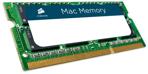 Памет Corsair DDR3, 1333MHz 8GB (1 x 8GB) 204 SODIMM 1.5V, Apple Qualified, Unbuffered
