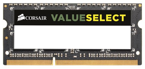 Памет Corsair DDR3, 1600MHZ 8GB (1 x 8GB) 204 SODIMM 1.5V, Unbuffered