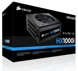 Захранване Corsair PSU Corsair HX Series 1000 Watt 80+ Platinum, Fully Modular, EU Version (10 years warranty)