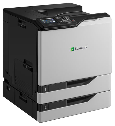 Color Laser Printer Lexmark CS820dte -  Duplex; A4; 1200 x 1200 dpi; 57 ppm; 1024 MB; capacity: 1200 sheets; USB 2.0; Gigabit LAN;  Maximum Monthly Duty Cycle 200000 pages per month