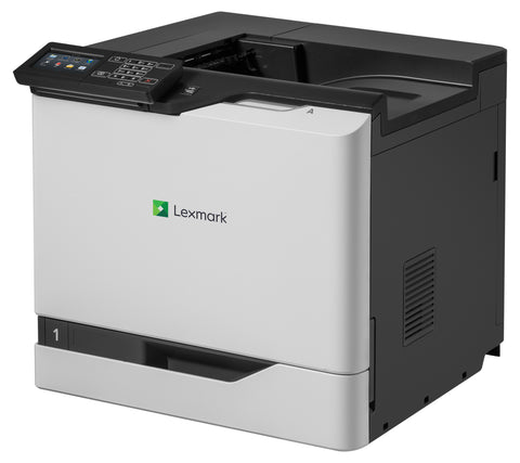 Color Laser Printer Lexmark CS820de -  Duplex; A4; 1200 x 1200 dpi; 57 ppm; 1024 MB; capacity: 650 sheets; USB 2.0; Gigabit LAN;  Maximum Monthly Duty Cycle 200000 pages per month