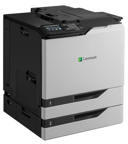 Color Laser Printer Lexmark CS820dtfe -  Duplex; A4; 1200 x 1200 dpi; 57 ppm; 1024 MB; capacity: 1200 sheets;  Inline Stapler, USB 2.0; Gigabit LAN;  Maximum Monthly Duty Cycle 200000 pages per month