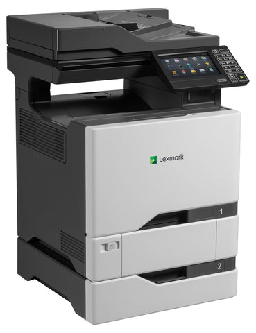 Color Laser Printer Lexmark CS725dte Duplex; A4; 1200 x 1200 dpi; 47 ppm; 1024 MB; capacity: 1200 sheets; USB 2.0; Gigabit LAN;  Maximum Monthly Duty Cycle 150000 pages per month