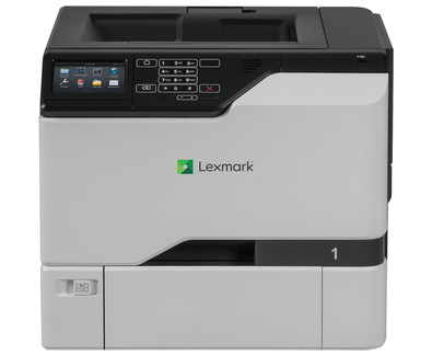 Color Laser Printer Lexmark CS728de Duplex; A4; 1200 x 1200 dpi; 47 ppm; 1024 MB; capacity: 650 sheets; USB 2.0; Gigabit LAN;  Maximum Monthly Duty Cycle 150 000 pages per month