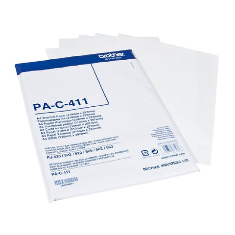 A4 thermal paper -100 sheets for Pocket Jet