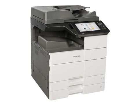 Lexmark Mono Laser Multifunctional MX911de Copy,Print,Fax, Scan, up to 55 ppm,5.6 sec,1200x1200dpi,1024 MB, 800MHz, DADF,Paper Input 1150 pages, Paper Output  250 pages, USB, Gigabit, up to 300 000 pages