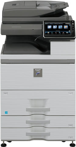 Принтер  SHARP MFP MX-M754N 75 PPM, DSPF (150 sheets), 320 GB HDD, 3 GB RAM, PCL 6, Adobe PostScript 3, OSA, 2x500-sheets + LCT 2100 sheets