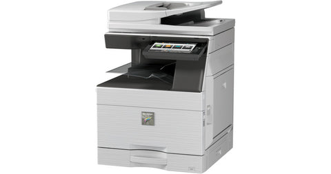 Принтер SHARP MFP MX-6050N 60 PPM, 10.1 inch colour LCD, 1 x 550 + MB(100), Duplex, RSPF, PCL, Network scanner